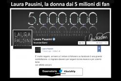 Laura Pausini, la donna dai 5 milioni di fan