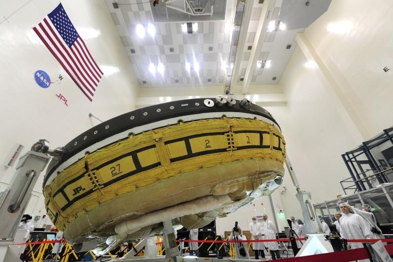 Nasa, testato un disco volante per Marte