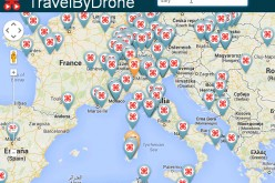 TravelByDrone: come Street View ma fatto con i droni