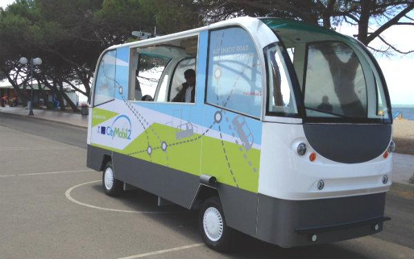CityMobile autobus senza conducente