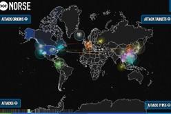 Norse: la mappa real time degli attacchi hacker