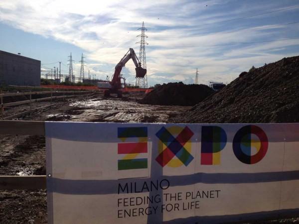 I droni di Telecom monitorano i cantieri di Expo Milano 2015