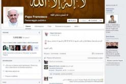 Messaggi blasfemi sulla pagina Facebook di Papa Francesco: è opera di hacker islamici