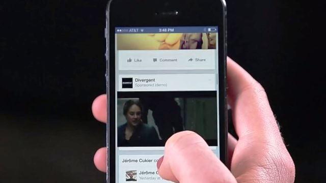 I video in autoplay di Facebook consumano credito e traffico dati