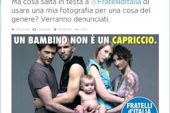 """Oliviero Toscani vs FdI: """"Non usate le mie foto per propaganda anti-gay"""""""