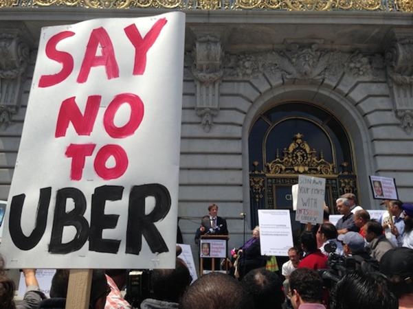Uber class action california
