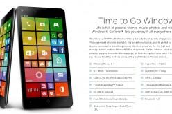 """Il primo smartphone targato """"Windows"""" è GoFone GF47W"""