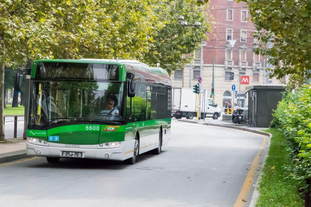 Atm annuncia autobus euro 6 di Solari