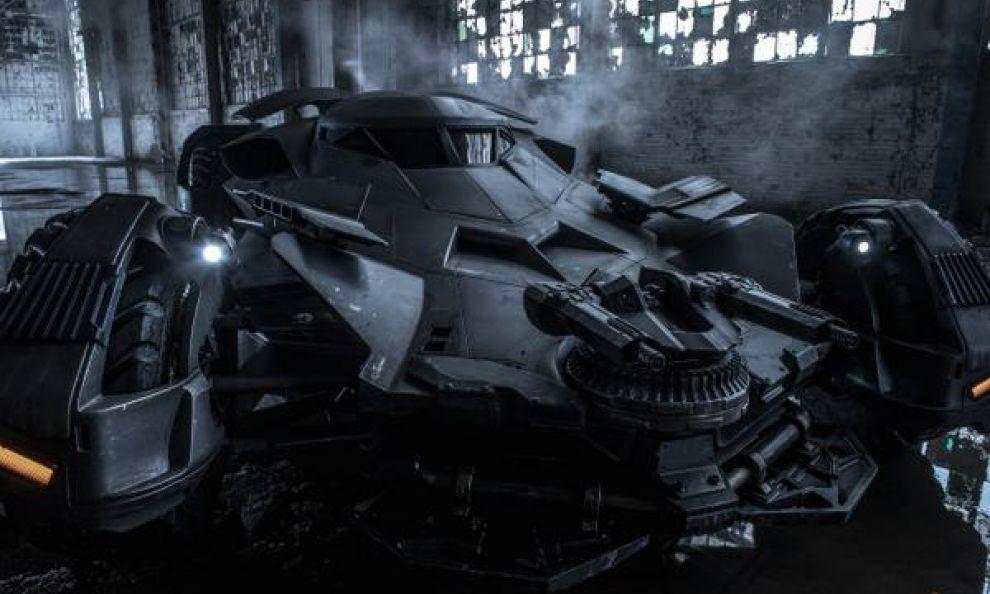 Batman v Superman: ecco la nuova Batmobile
