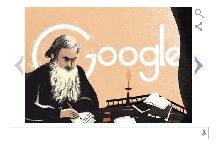 Doodle Tolstoj