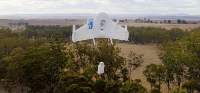 Google testa un sistema per il controllo del traffico di droni