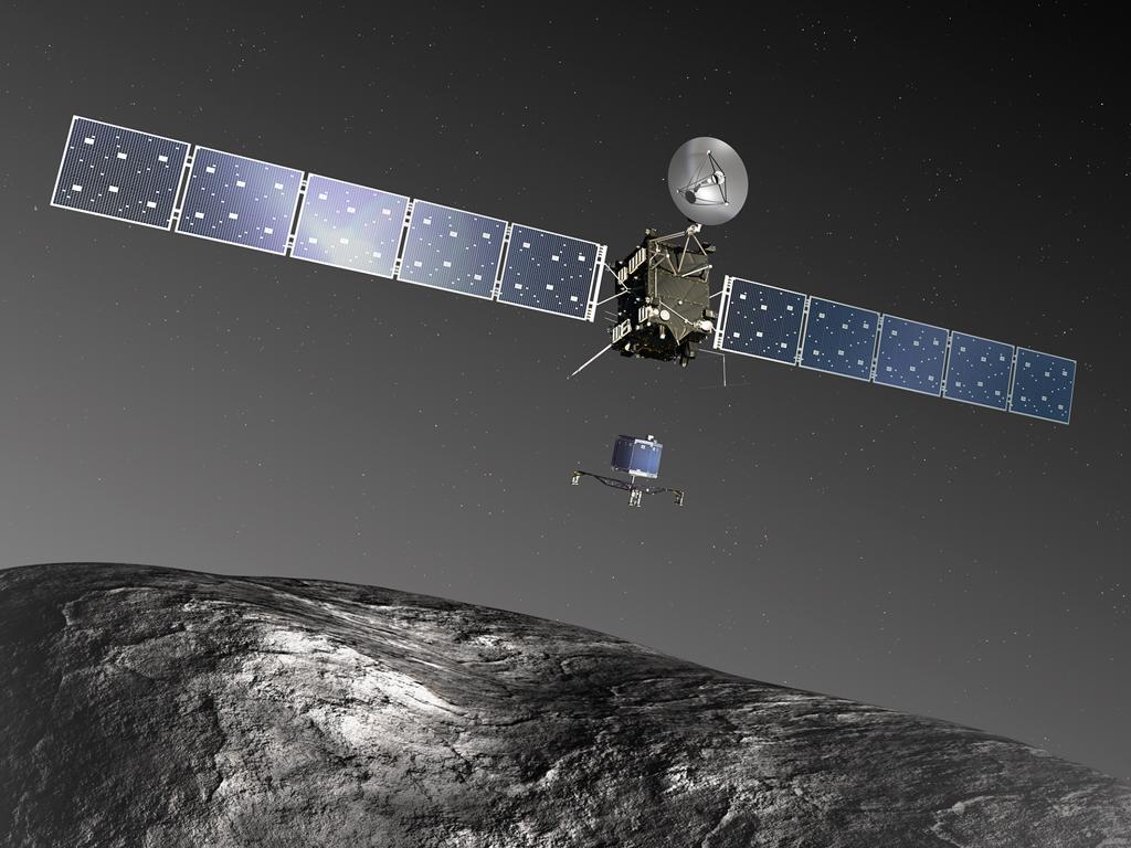 La sonda Rosetta prepara l'atterraggio sulla cometa