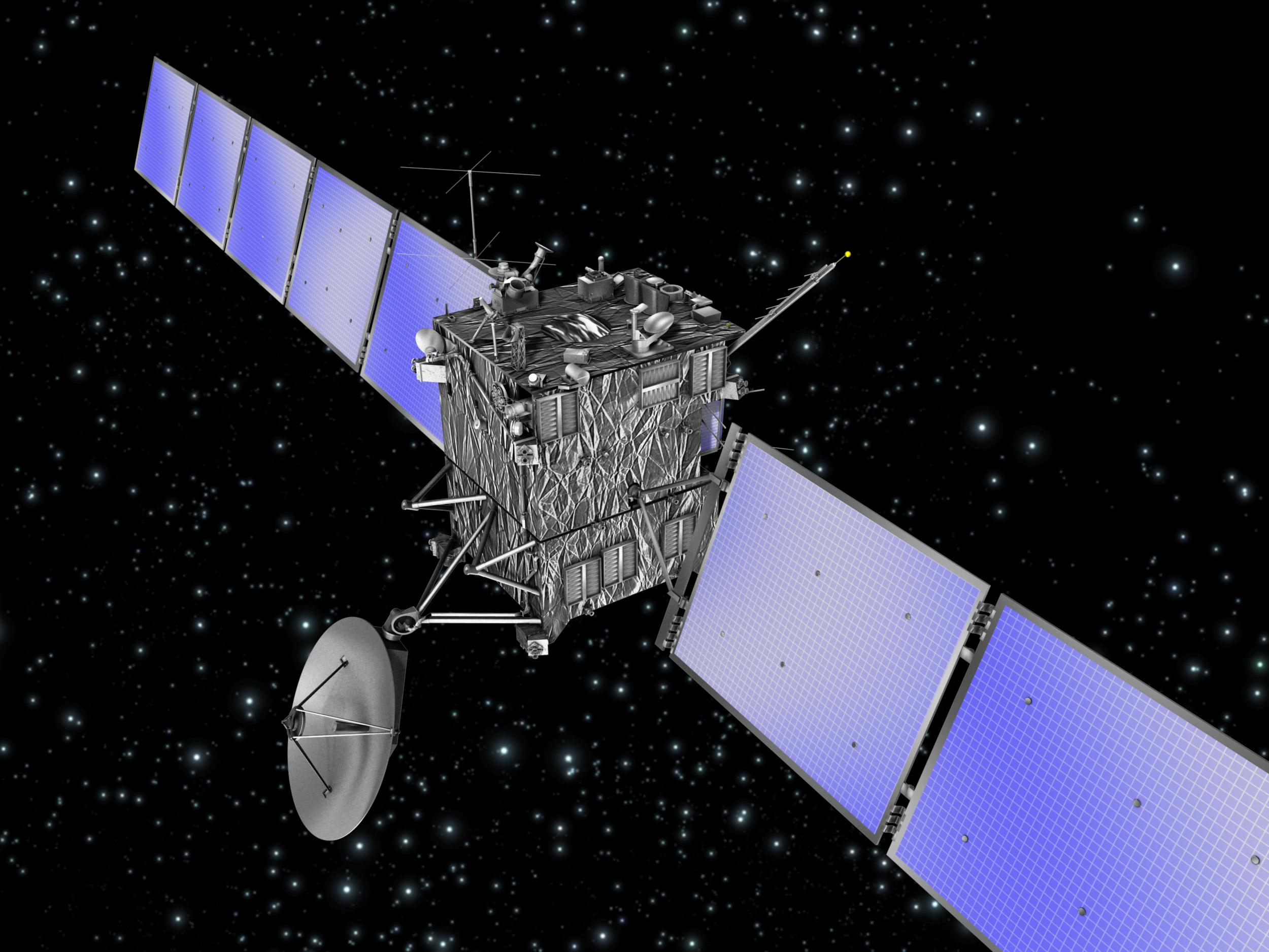 La sonda Rosetta compie 10 anni