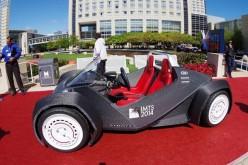 La prima auto stampata in 3D