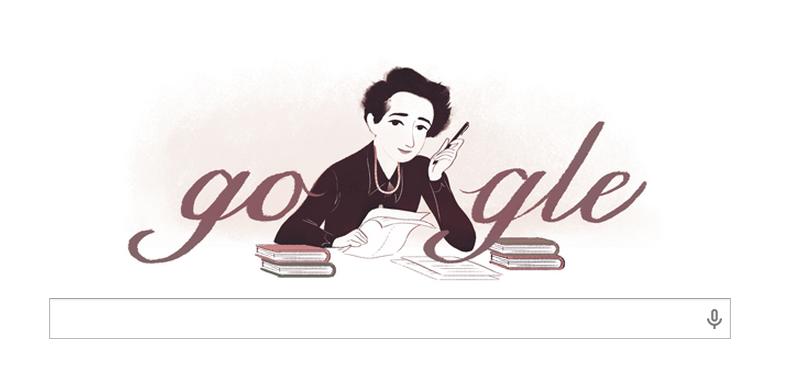 Doodle per Hannah Arendt, così Google omaggia la filosofa del pluralismo