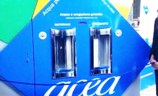 """Arrivano i """"nasoni hi-tech"""", a Roma acqua naturale e frizzante per tutti"""