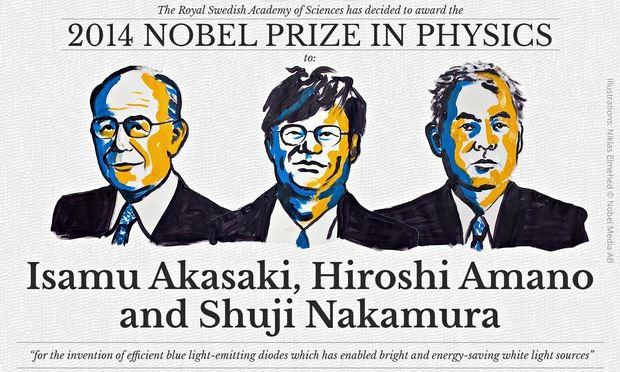 Gli inventori dei Led vincono il premio Nobel per la Fisica