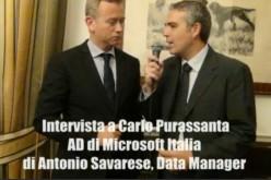 Videointervista a Carlo Purassanta, AD di Microsoft Italia