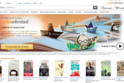 Amazon Kindle Unlimited: lettura illimitata a €9.99 al mese