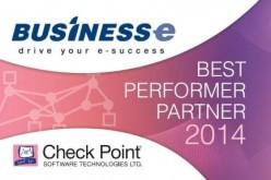Business-e  premiata da Check Point come Best Performer Partner 2014