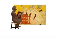 Doodle post-impressionista per i 150 anni di Toulouse-Lautrec