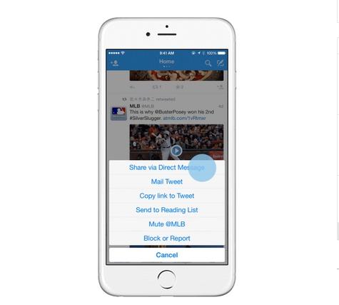 Twitter: condividere i tweet pubblici in privato