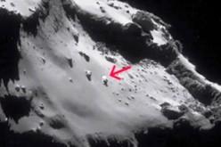 Rosetta ha trovato strutture aliene sulla cometa?