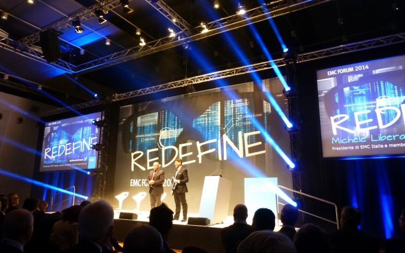 """EMC nell'era del """"Redefine"""""""