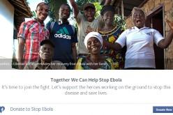 """Facebook: """"Dona per sconfiggere l'ebola"""""""