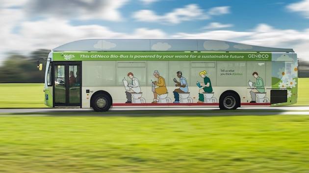 Bio-Bus: autobus alimentato ad escrementi