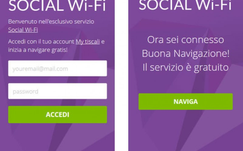 Tiscali Social Wi-Fi: la ADSL diventa social