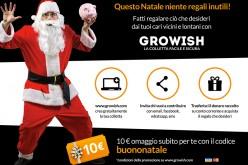 Growish: acquistare i regali di Natale con la colletta