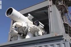 La Marina Militare USA ha un cannone laser (VIDEO)