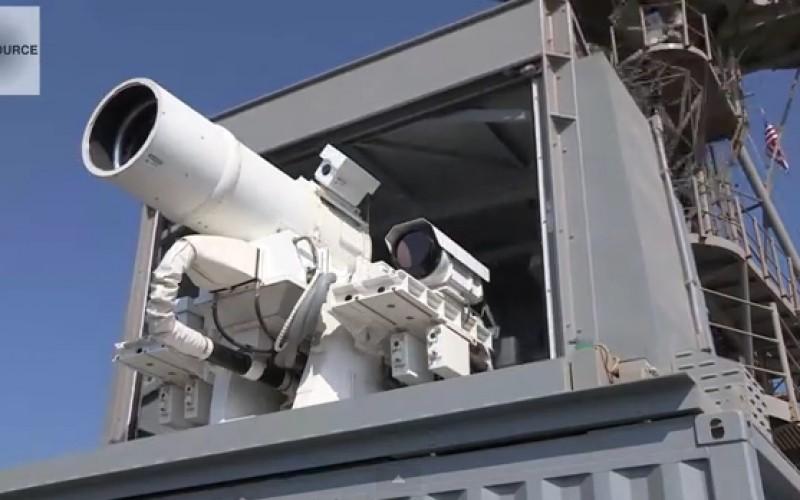 Risultati immagini per cannone laser usa
