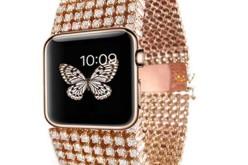 Una cascata di diamanti per Apple Watch
