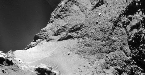 Rosetta ha scoperto materiale biologico sulla cometa