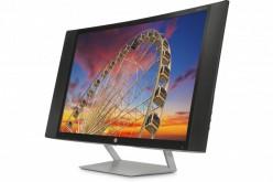 HP: nuovi schermi curvi e ad altissima definizione