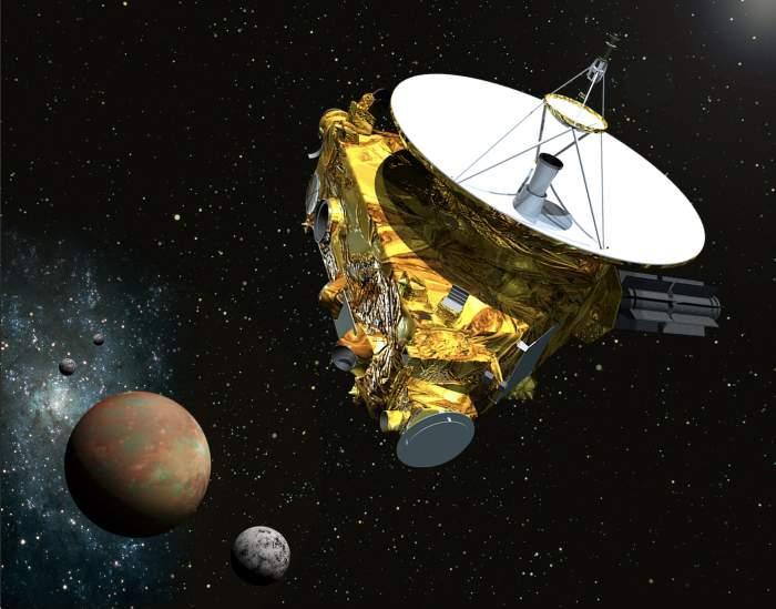 La sonda della NASA New Horizons si avvicina a Plutone