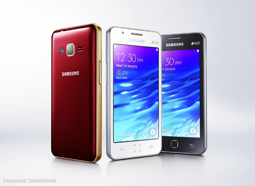Ecco Samsung Z1, il primo smartphone Tizen