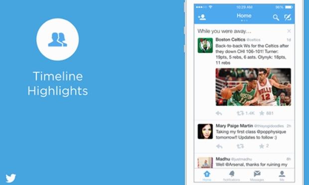 Twitter: funzione mentre eri via