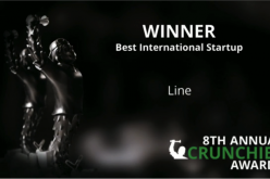 "Annual Crunchies Awards: LINE è ""Best International Startup"""