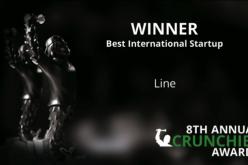 "Annual Crunchies Awards: LINE è ""Best International Startup"""