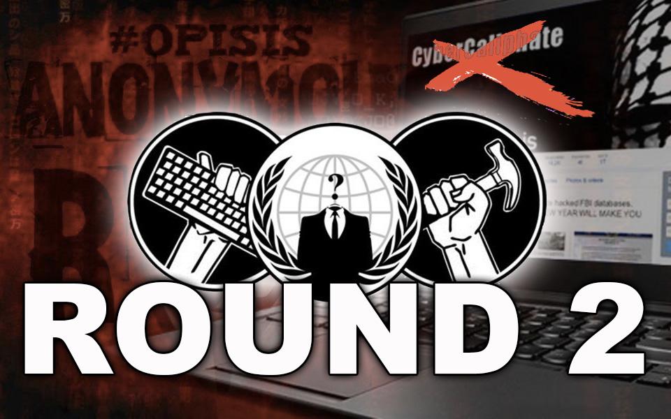 anonymous contro isis round 2
