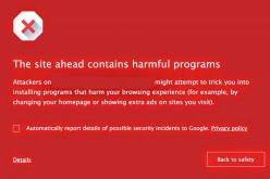 Chrome: giro di vite contro i siti pericolosi