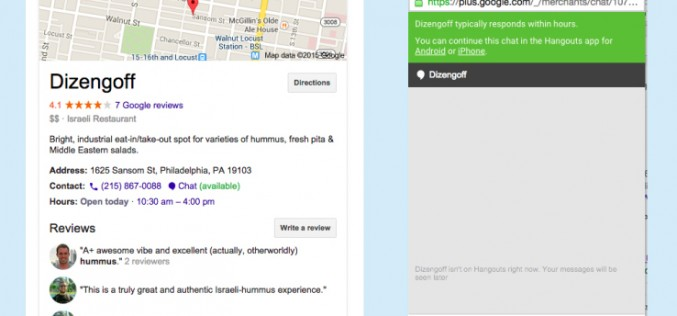 Google studia la chat per il business