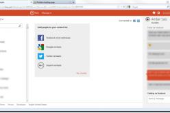 Microsoft elimina Facebook e Google da Outlook