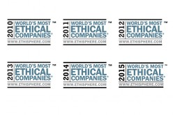 A Ford Motor Company il riconoscimento World's Most Ethical Companies 2015