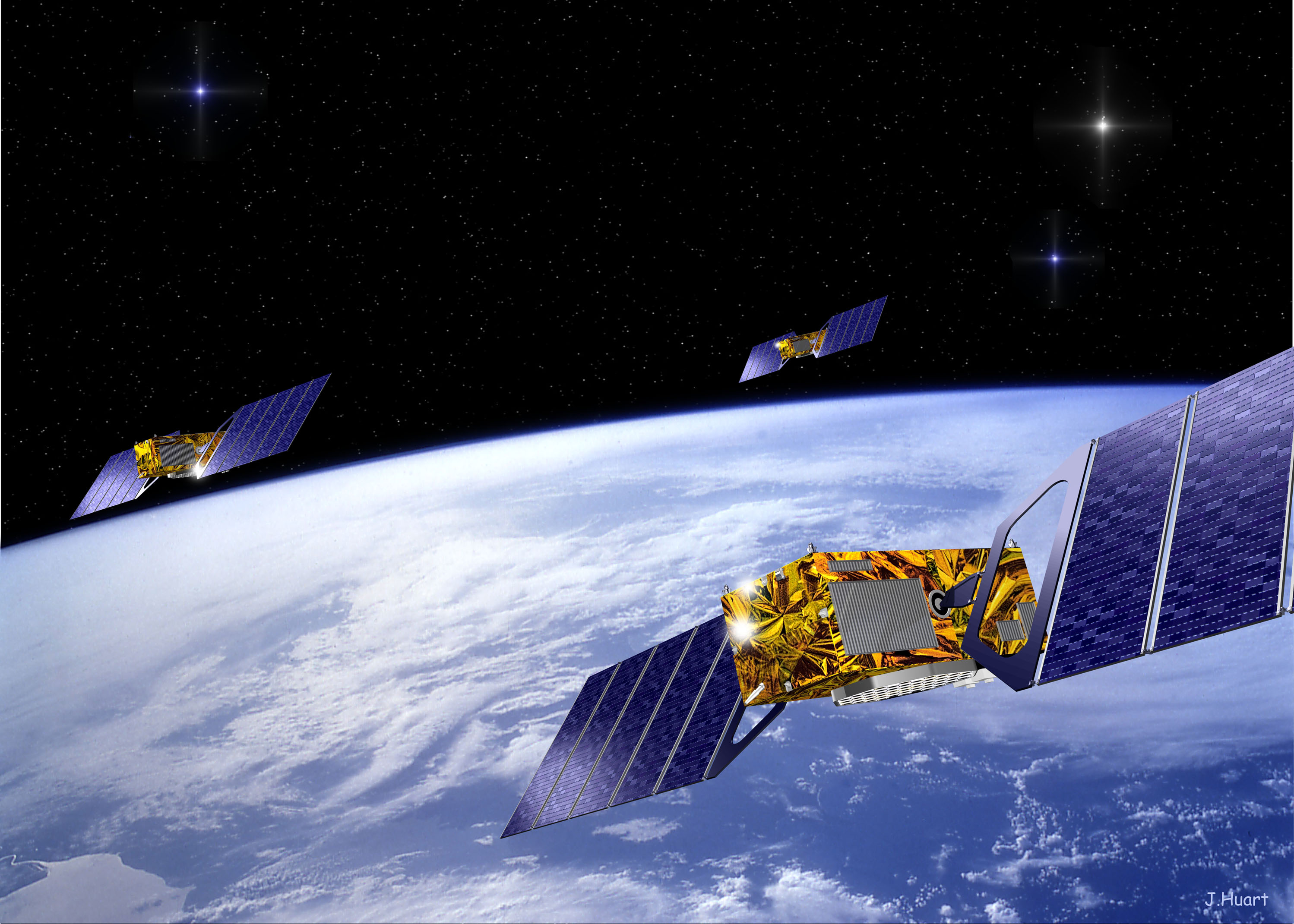 Galileo rete satellitare europea