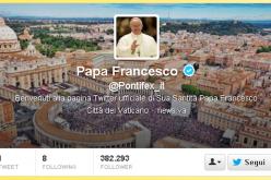 Il segno di Francesco, su Twitter