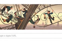 Doodle per l'inaugurazione della Tour Eiffel